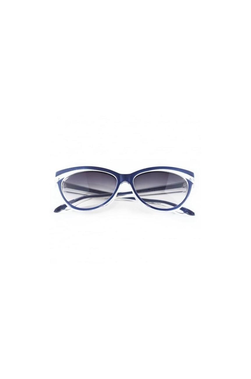 Lunettes vintage bleues