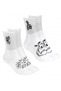 Chaussettes hyraw blanches