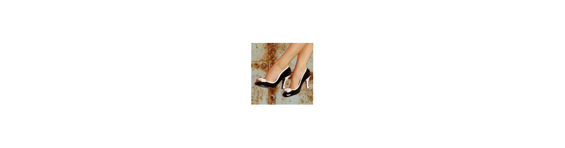 Chaussure pin up couture